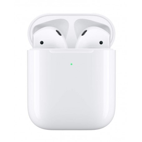 Apple Auricolari AirPods 2 + Custodia di Ricarica Wireless