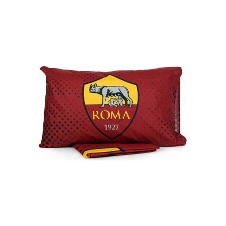 Hermet Duvet cover + Cotton Pillowcase AS Roma - Sizes: Single