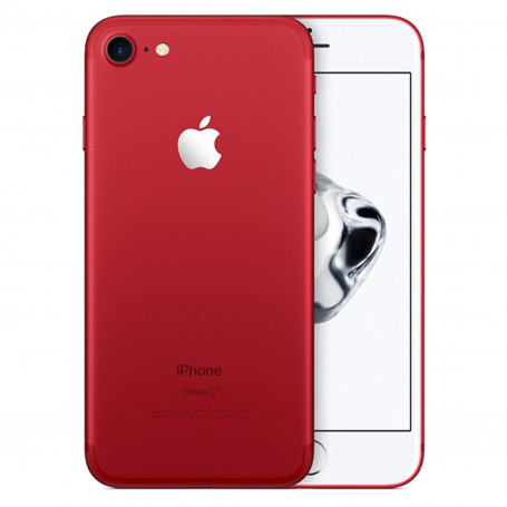 """Apple iPhone 7 128GB 4.7"""" (Product)RED certified Refurbished 1-Year Warranty"""