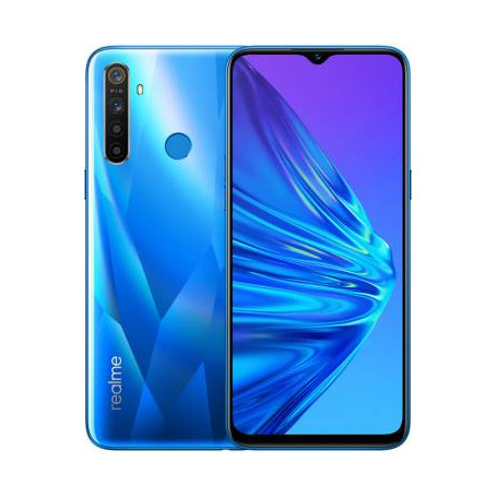 "Realme 5 4+128GB 6.5"" Crystal Blue DS"
