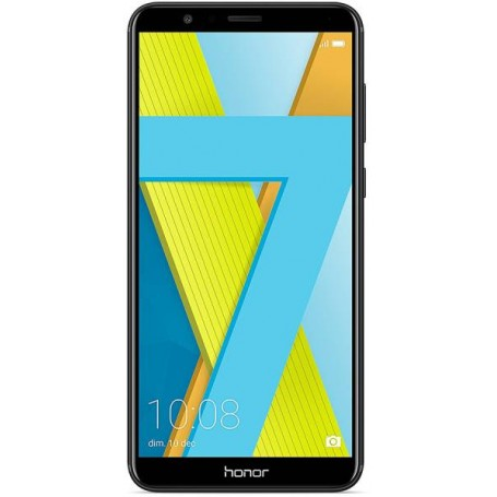"Huawei Honor 7X 5.93"" Black DS ITA"