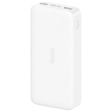 Xiaomi Mi Power Bank Universale 2x USB 18W 20000 mAh White