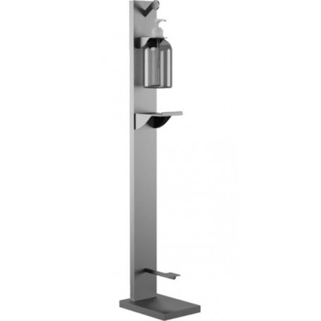 RMove Dispenser in stainless Steel x Gel with Pedal