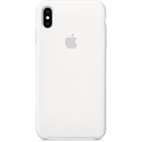 MRWF2ZM/A Apple Silicone Case iPhone XS Max - White
