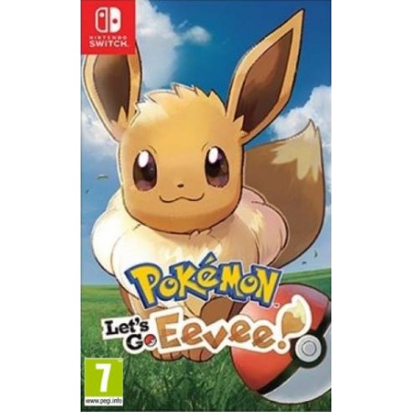 Switch Pokemon Let's GO Eevee