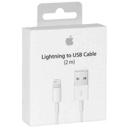 MD819ZM/A Apple Kabel Lightning auf USB (2m)