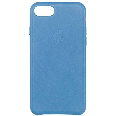 online store 56abe d2a5c Apple iPhone 8/7 Leather Case - Sea Blue