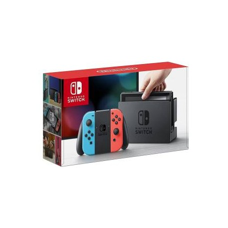 Nintendo Switch Console Red/Blue