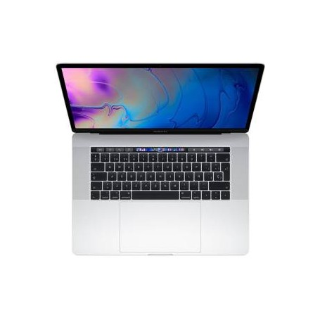 """MR962T/A Apple MacBook Pro 15"""" i7 256GB Touch bar Silver"""