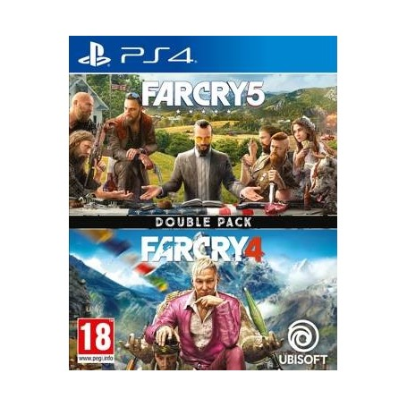 PS4 videogioco Compilation Far Cry 4 +Far Cry 5 Double Pack